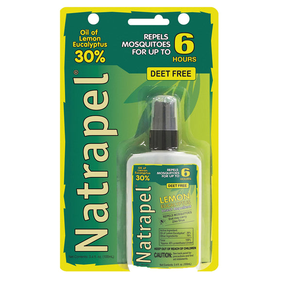 2Natrapel Lemon Eucalyptus Pump 3.4 oz