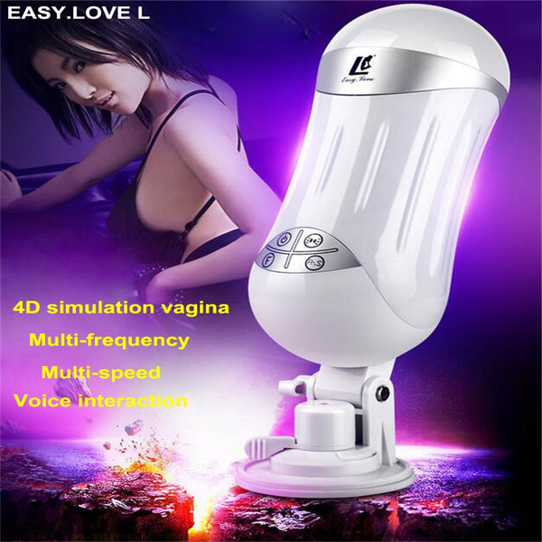 EASY.LOVE L Vibrator sex toys for men Realistic Vagina real pussy Male Masturbator for man Male sex toy Sextoy Masturbateur