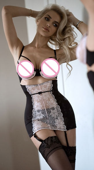 MOONIGHT Sexy Erotic Lingerie Hot Lace Lingerie Women Erotic Apparel Sexy Underwear Sleepwear Transparent Lingerie Sex