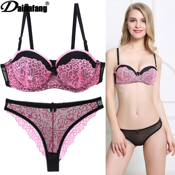 New European Sexy Girl Lingerie Lingerie Collection Gathers Adjustable Lingerie for Women ABC Cup