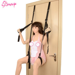 SM Bondage Restrain Sex Swing Adult sex Game Chairs Hanging Door Swing Sex Furniture Strap Fetish Restraints Sex toy for Couple