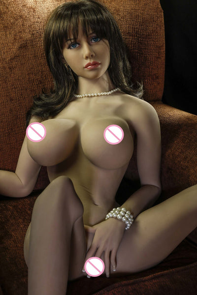 JY doll brunette 165cm sex dolls TPE with metal skeleton Life size sex robot beautiful girl with oral pussy sex toy for men
