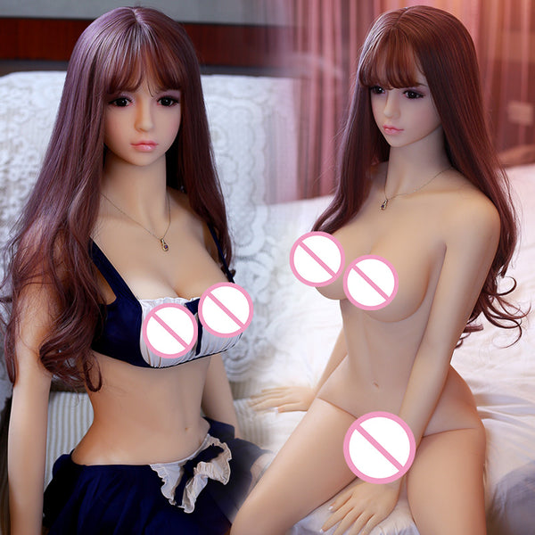 HDK 165cm Real Silicone Sex Doll Sex Toys For Men Small Breast Ass Realistic Vagina Anal Love Male TPE Masturbation oral sex-toy