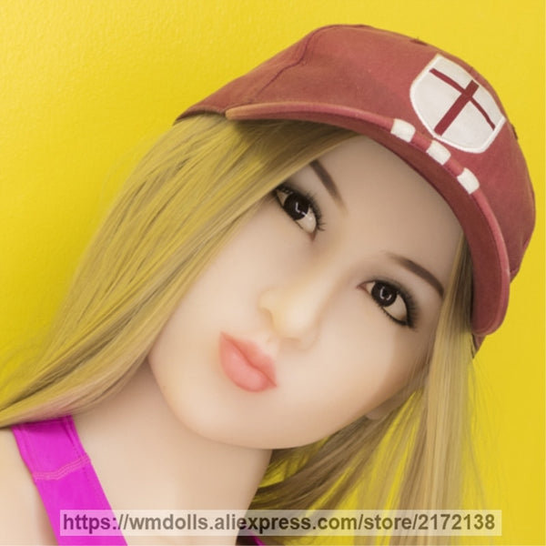 WMDOLL Silicone Sex Oral Dolls Heads Real Sex Dolls Head Japanese love Adult Sex Toy for men