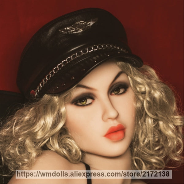 WMDOLL Real Sex Dolls Head Silicone Sex Oral Doll Heads Japanese love Adult Sex Toy for men