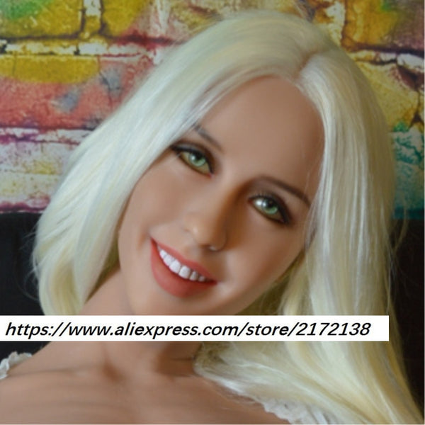 NEW WMDOLL  head for lifelike sex doll, real dolls head with oral sex, sex toy for man