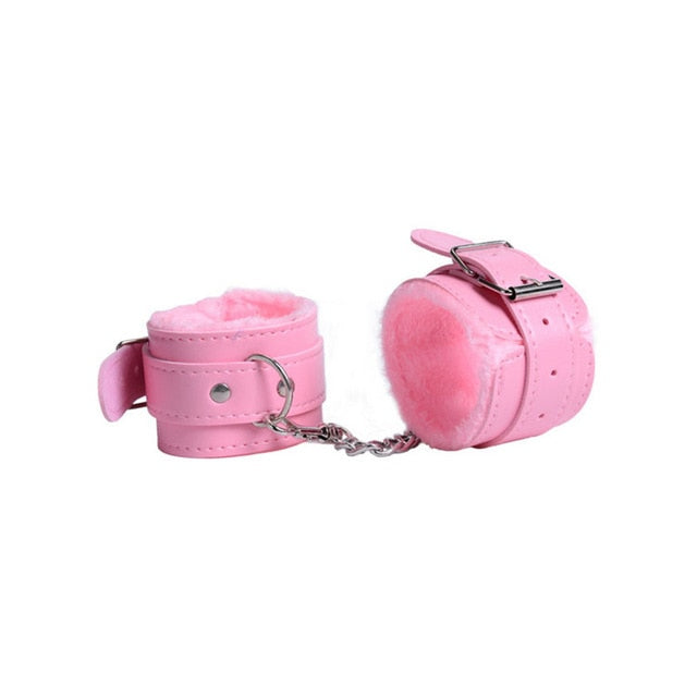 Sexy Adjustable Handcuffs PU Leather Restraints Bondage Sex Toy Restraints Tools Sex toys Sex Bondage Exotic Accessories