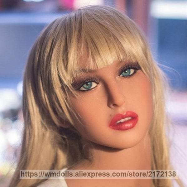 WMDOLL New real doll head silicone sex dolls oral head for love adult doll sex toy for men