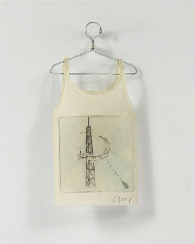 <i> Camisole on hanger tower airplane <i> Cybèle Young