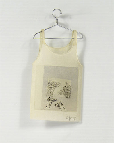 <i> Camisole on hanger shaddow pupprts <i> Cybèle Young