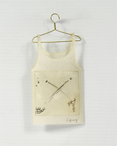 <i> Camisole on hanger sling shot <i> Cybèle Young