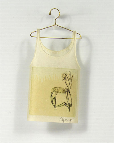 <i> Camisole on hanger corn <i> Cybèle Young