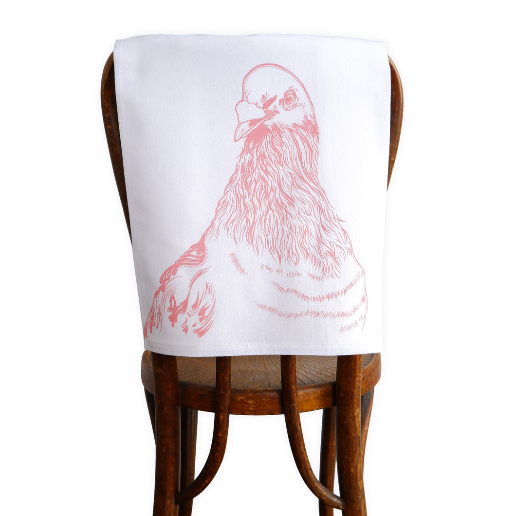 Arwen Giel - Pigeon Tea Towel (Blush)