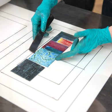Spring 2020 Collagraph - Texture-based Printmaking