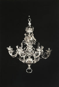 Dorian Fitzgerald - Chandelier for George II, King of England and Elector of Hanover, Balthazar Friedrich Behrens 1736-1737