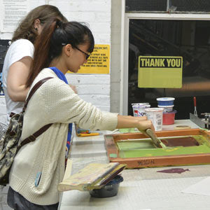 Winter 2020 Intro to Screenprinting