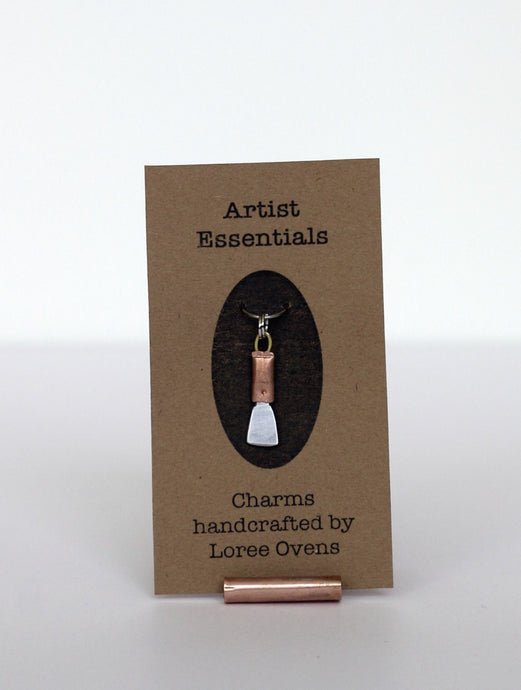 Loree Ovens - Tiny Palette Knife Charm