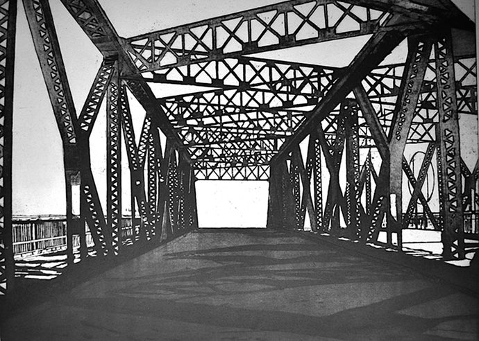 Liz Menard - Former Eastern Avenue Bridge