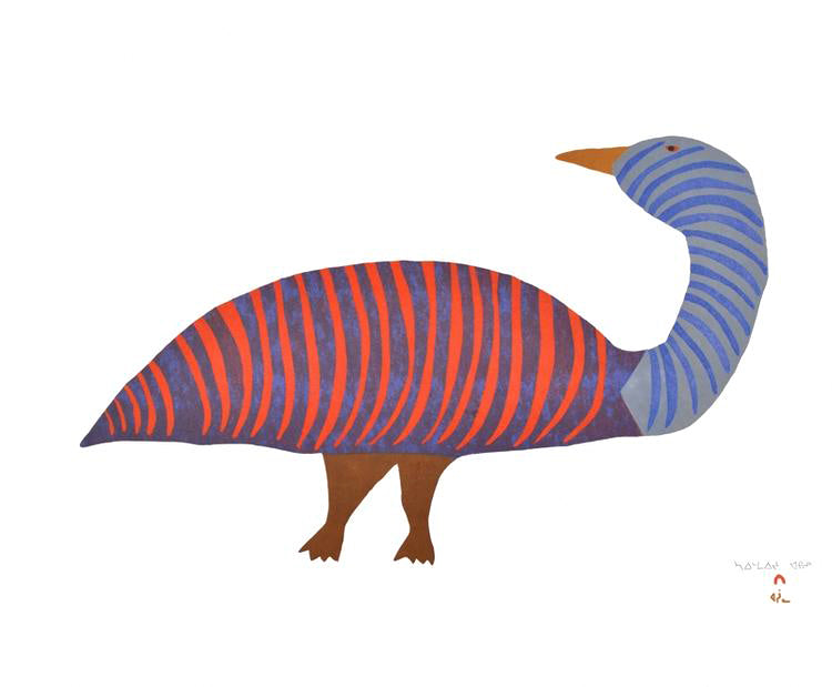 Saimaiyu Akesuk - Striped Goose