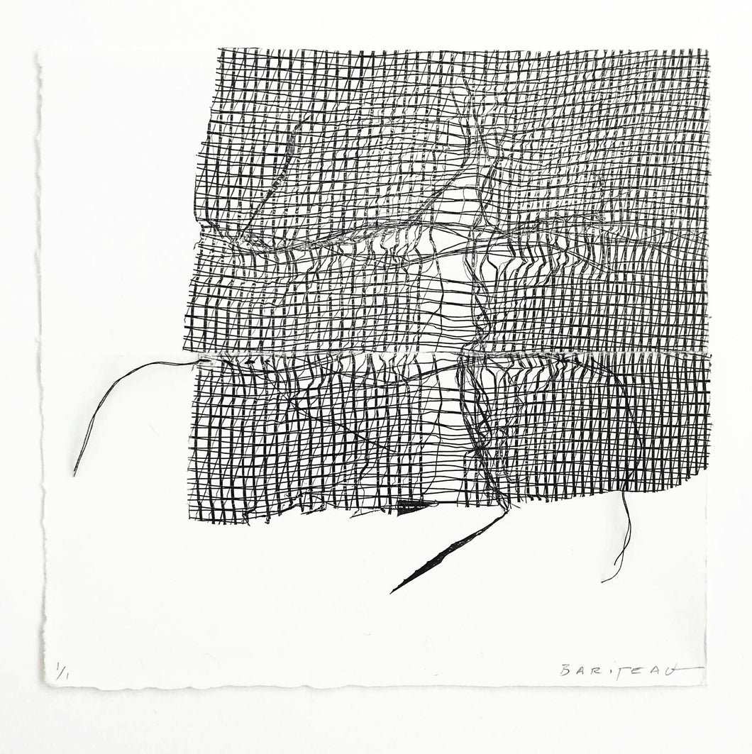 Nadine Bariteau - Untitled (Stitch Series)