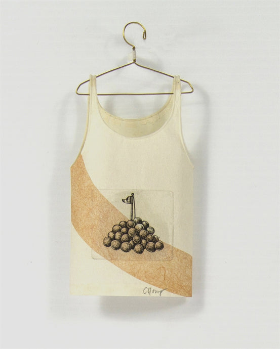 <i> Camisole on hanger flag and balls <i> Cybèle Young