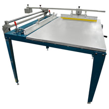 "EQUIP: Screenprinting table 25""x38"" w/ squeegee arm"