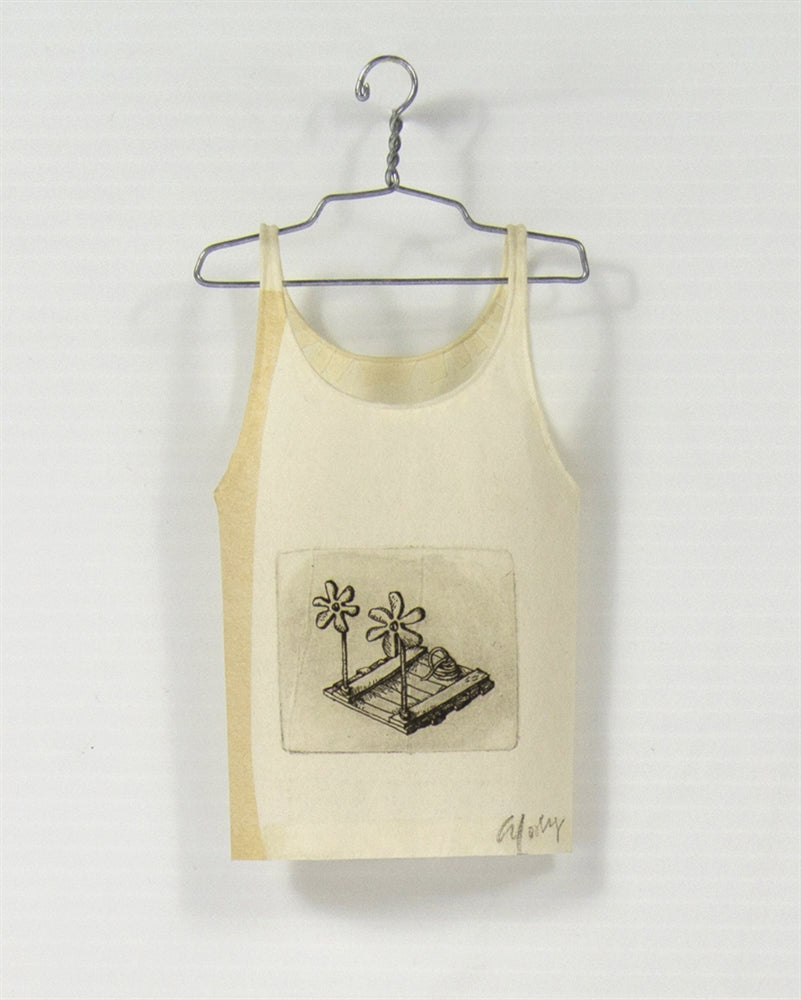 <i> Camisole on hanger raft <i> Cybèle Young