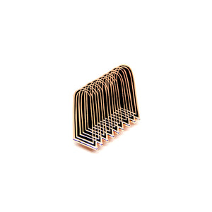 Annyen Lam - Arch Pin (Copper/Black)