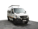 "Mercedes Benz Sprinter 144""/170"" / L2/L3 / MWB/LWB Wheelbase with OEM Tracks (2006-Current) Slimline II Roof Rack Kit / Tall"