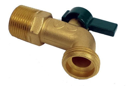 Brass Tap Upgrade For Plastic Jerry W/ Tap