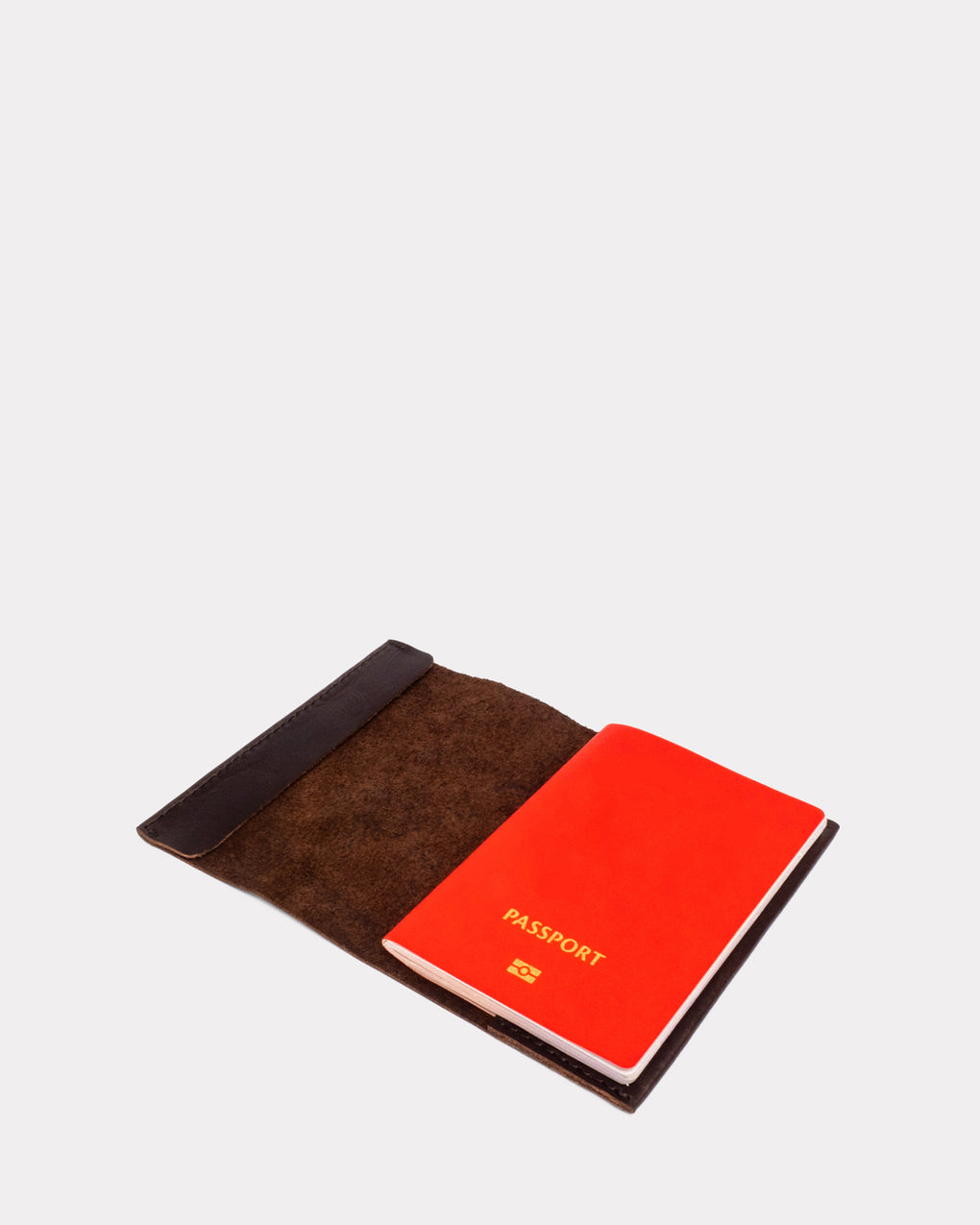 Passport Sleeve - Burnt Amber
