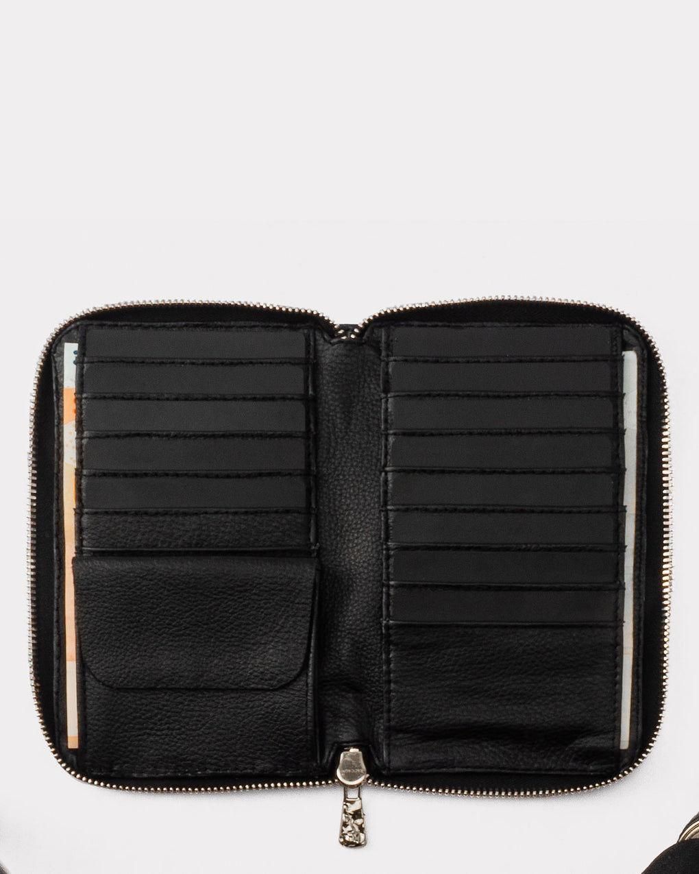 Transit Wallet Long - Black