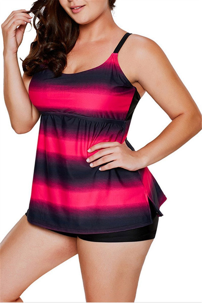 Plus Size Two-Piece Swimsuit