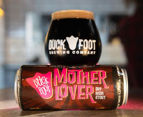 Mother Lover Can and Pint Glass