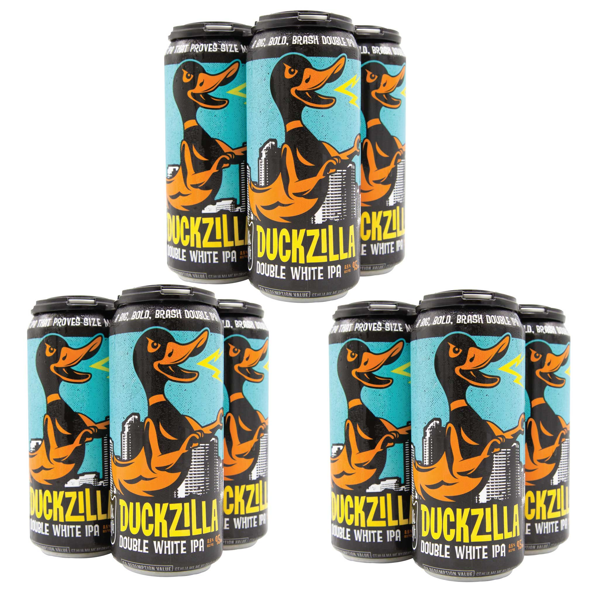 Duckzilla (3 x 4 Pack of 16oz Cans) ** CA SHIPPING ONLY