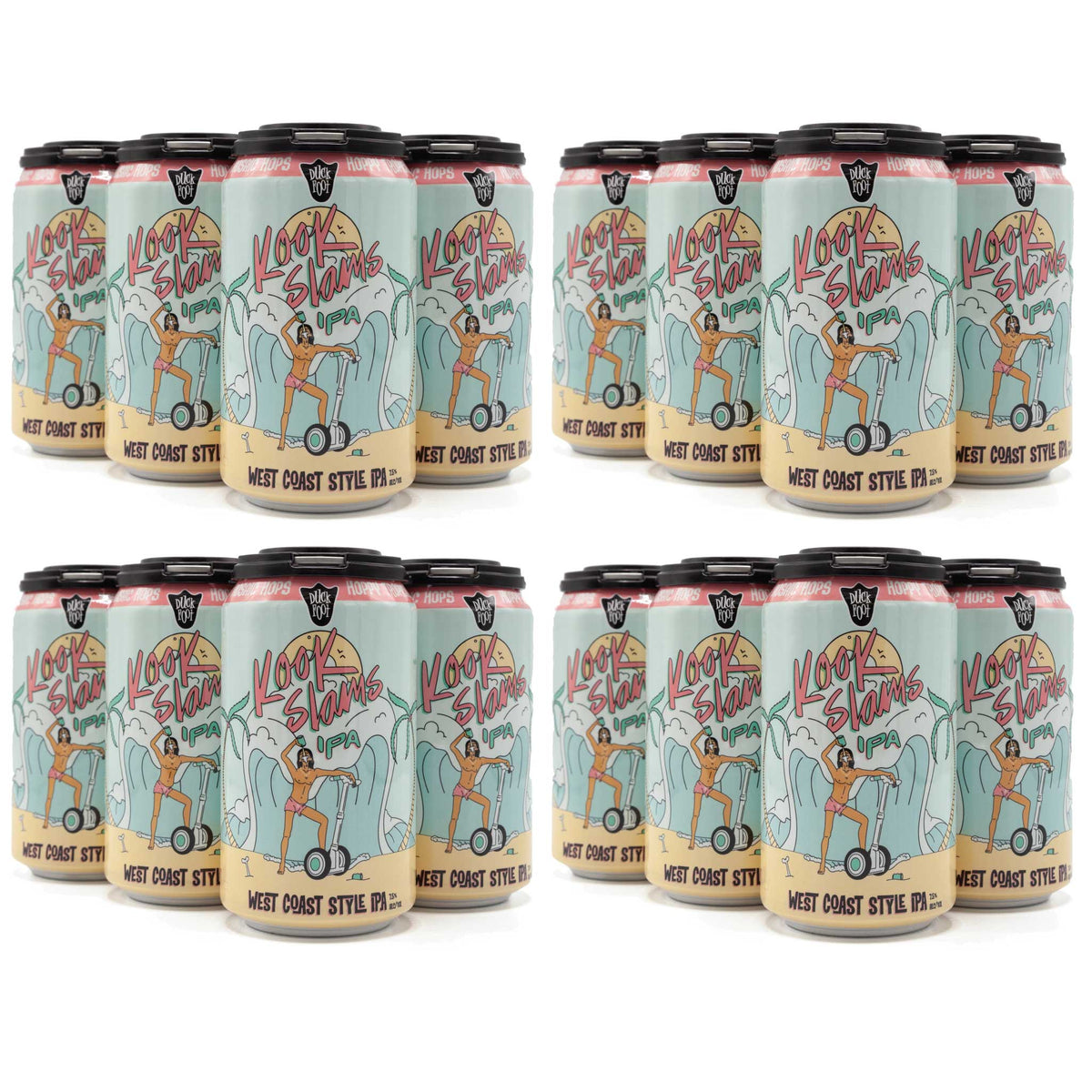 Kook Slams CASE (4 x 6 Pack of 12oz Cans) ** CA SHIPPING ONLY