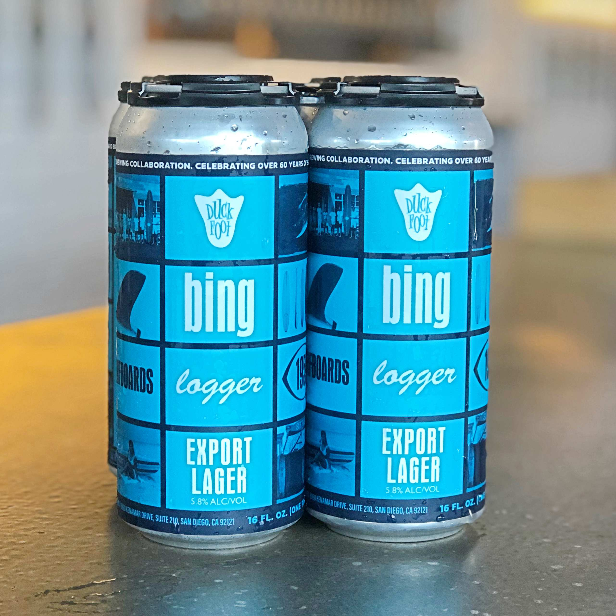 Bing Logger (3 x 4 Packs of 16oz Cans)