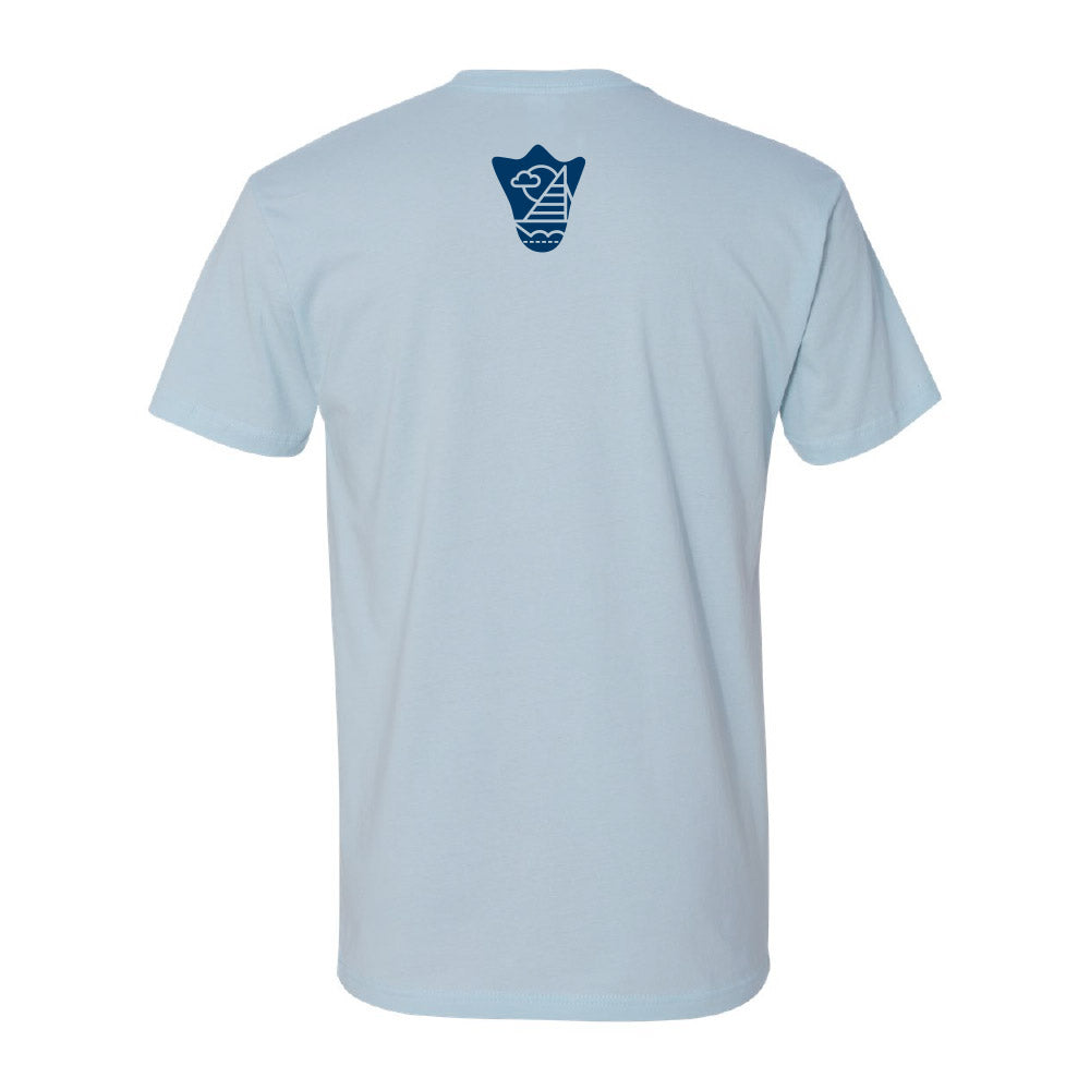 SALE - Blue Sailboat Tee