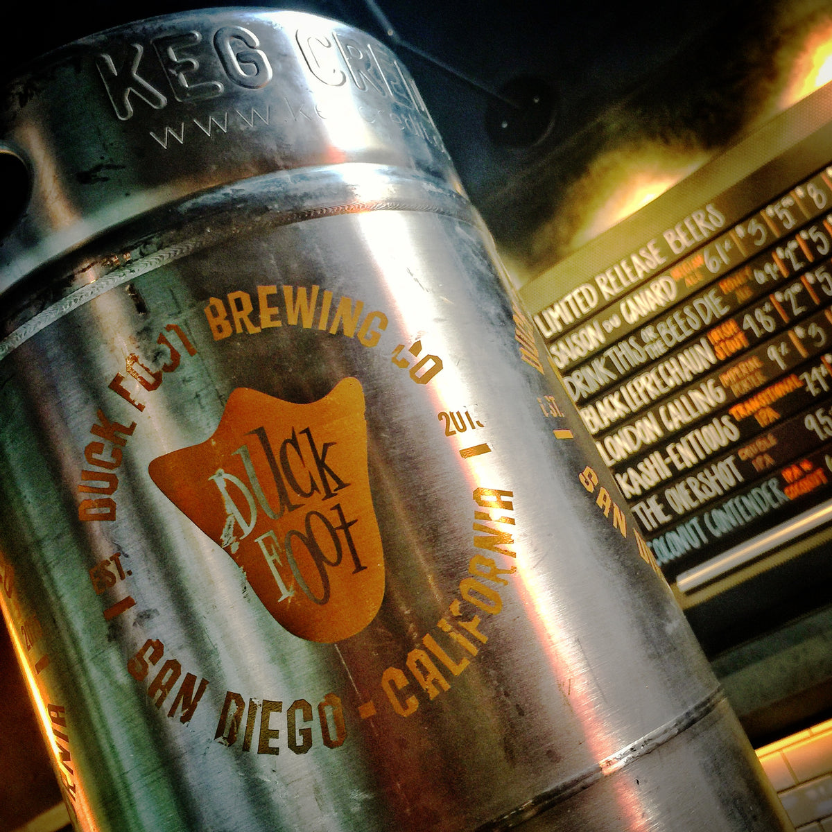 Hop'em Sock'em West Coast-style IPA, Keg (5 gal) - CALL 858-433-7916 TO RESERVE
