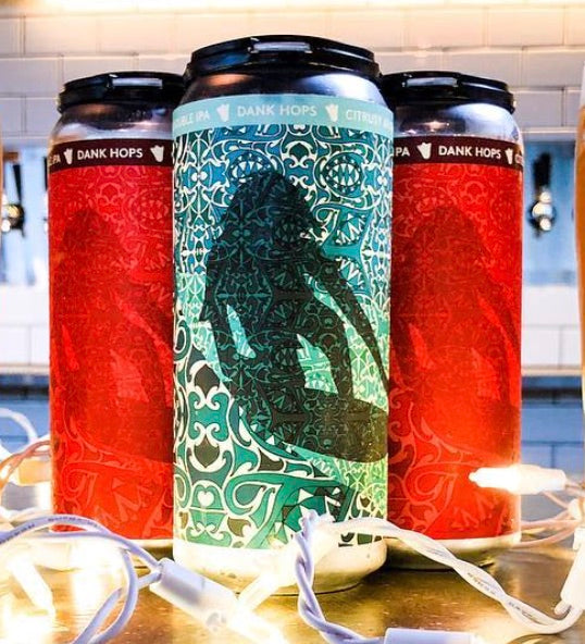 Hoppy Hollow Daze Hazy IPA (3 x 4 Packs of 16oz Cans) ** CA SHIPPING ONLY