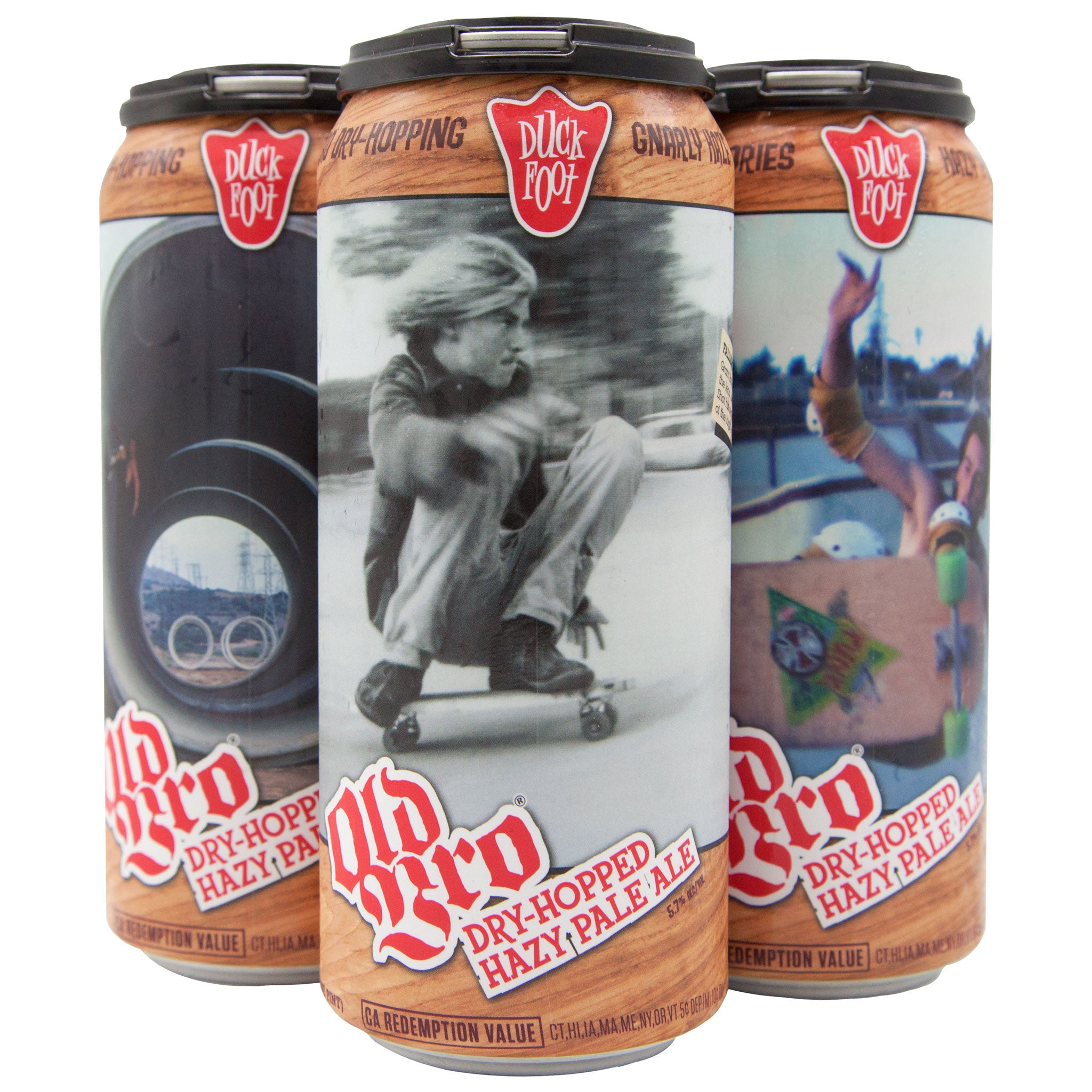 Old Bro (3 x 4 Pack of 16oz Cans) ** CA SHIPPING ONLY