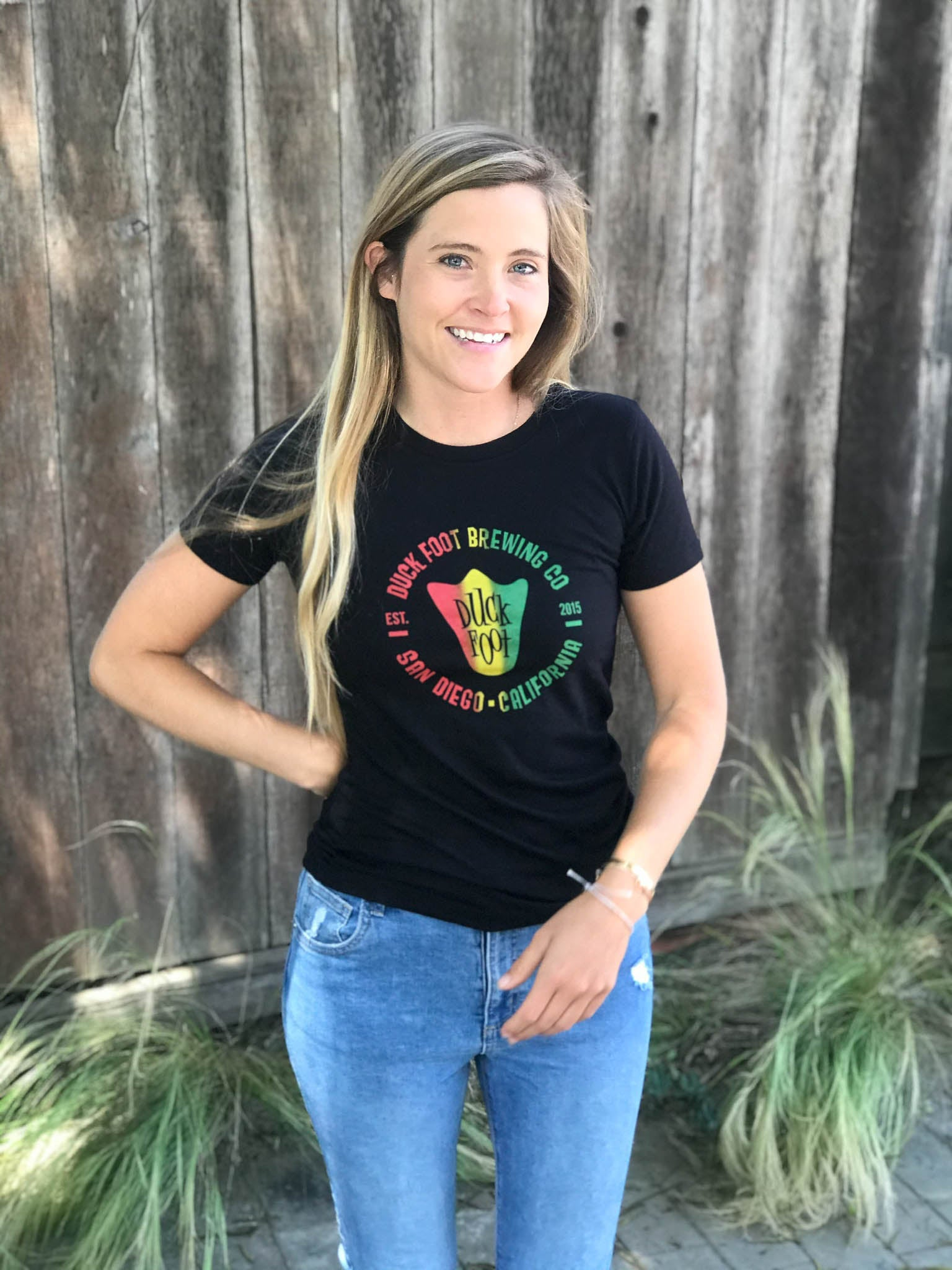 SALE - Women's Rasta Tee (Black)