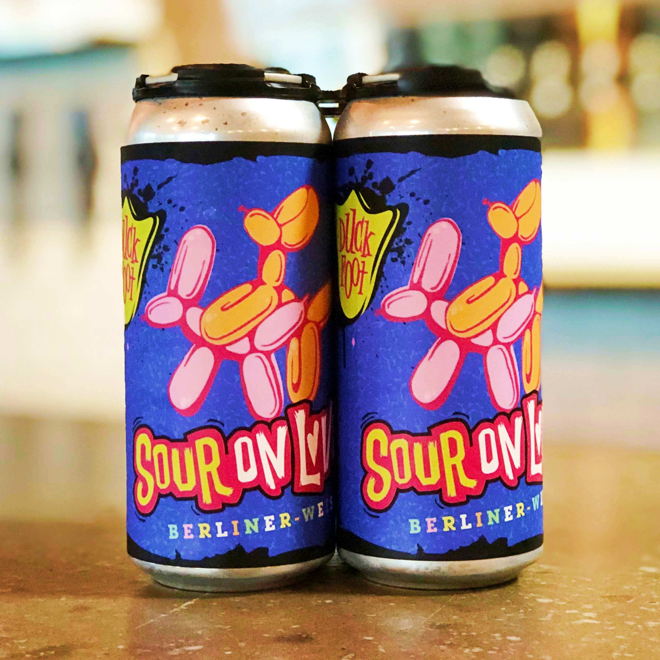 Sour on Love (4 Pack of 16oz Cans)