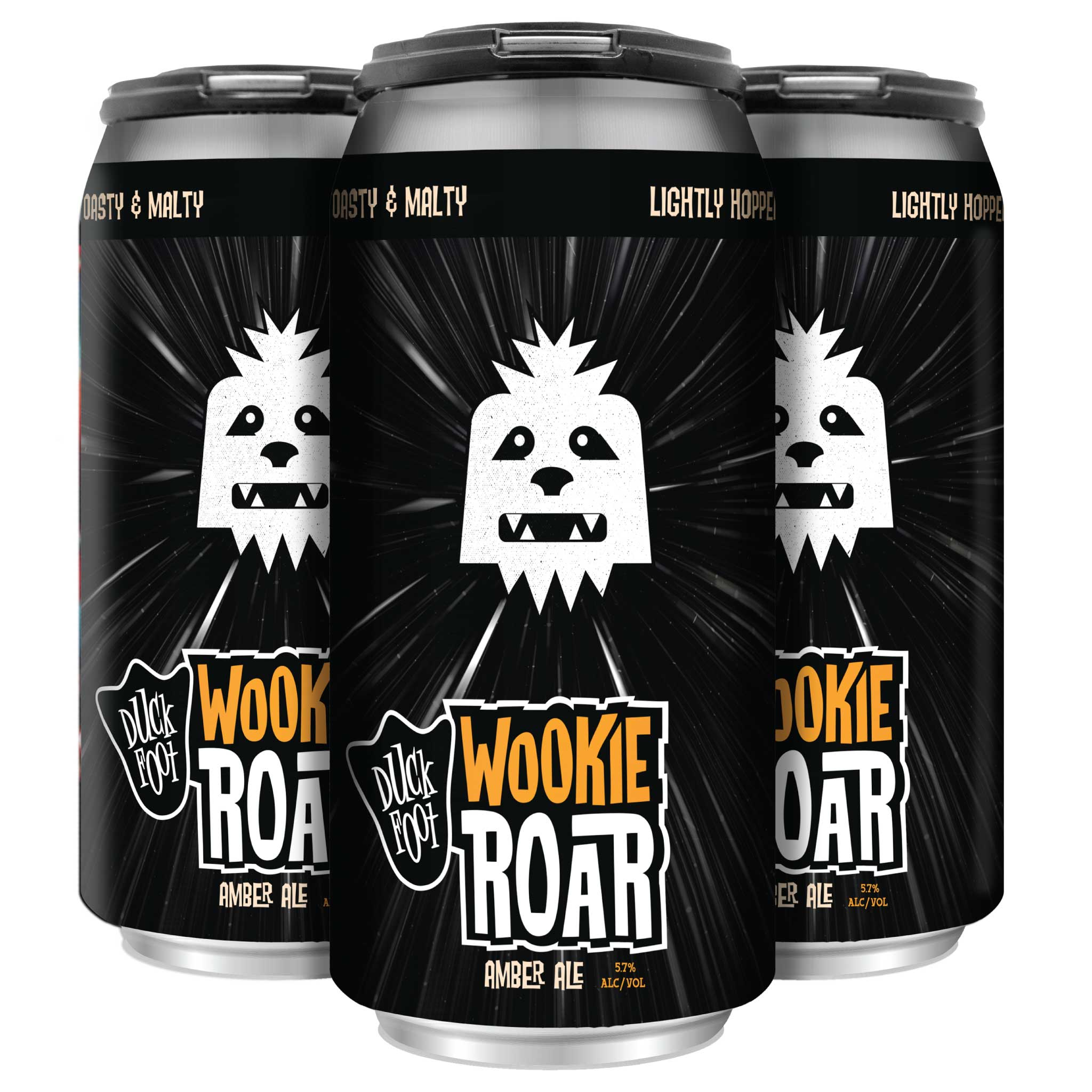 Wookie Roar (3 x 4 Packs of 16oz Cans) ** CA SHIPPING ONLY