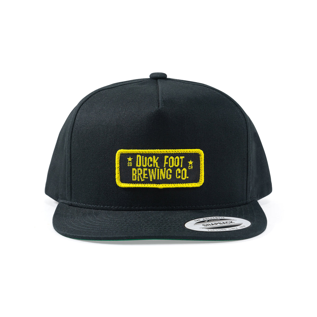 Original Rectangle Patch Hat (Black)