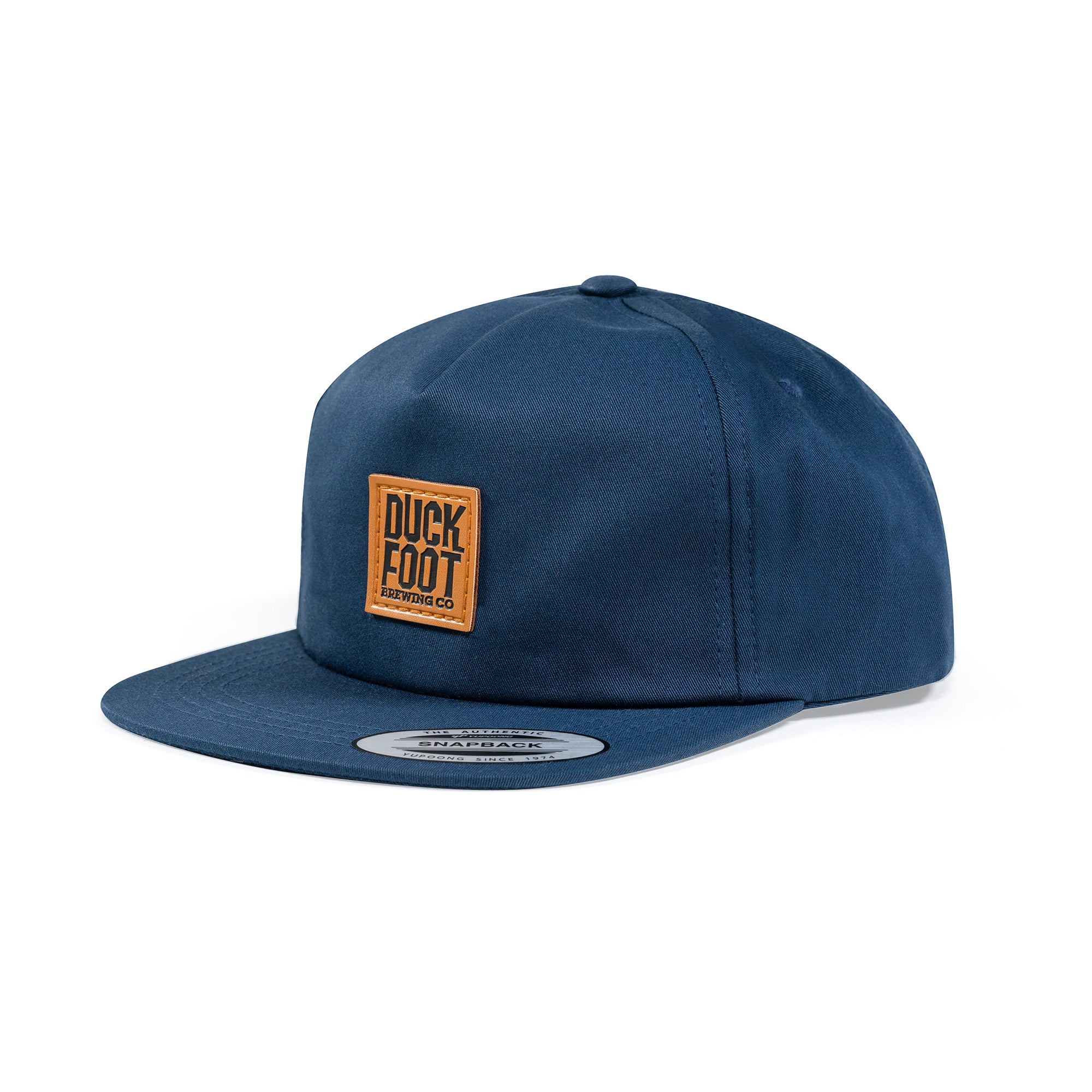 Original Stacked Patch Hat (Navy)
