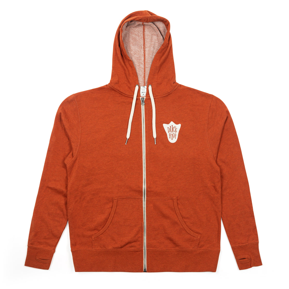 Duck Foot Hoodie (Orange)
