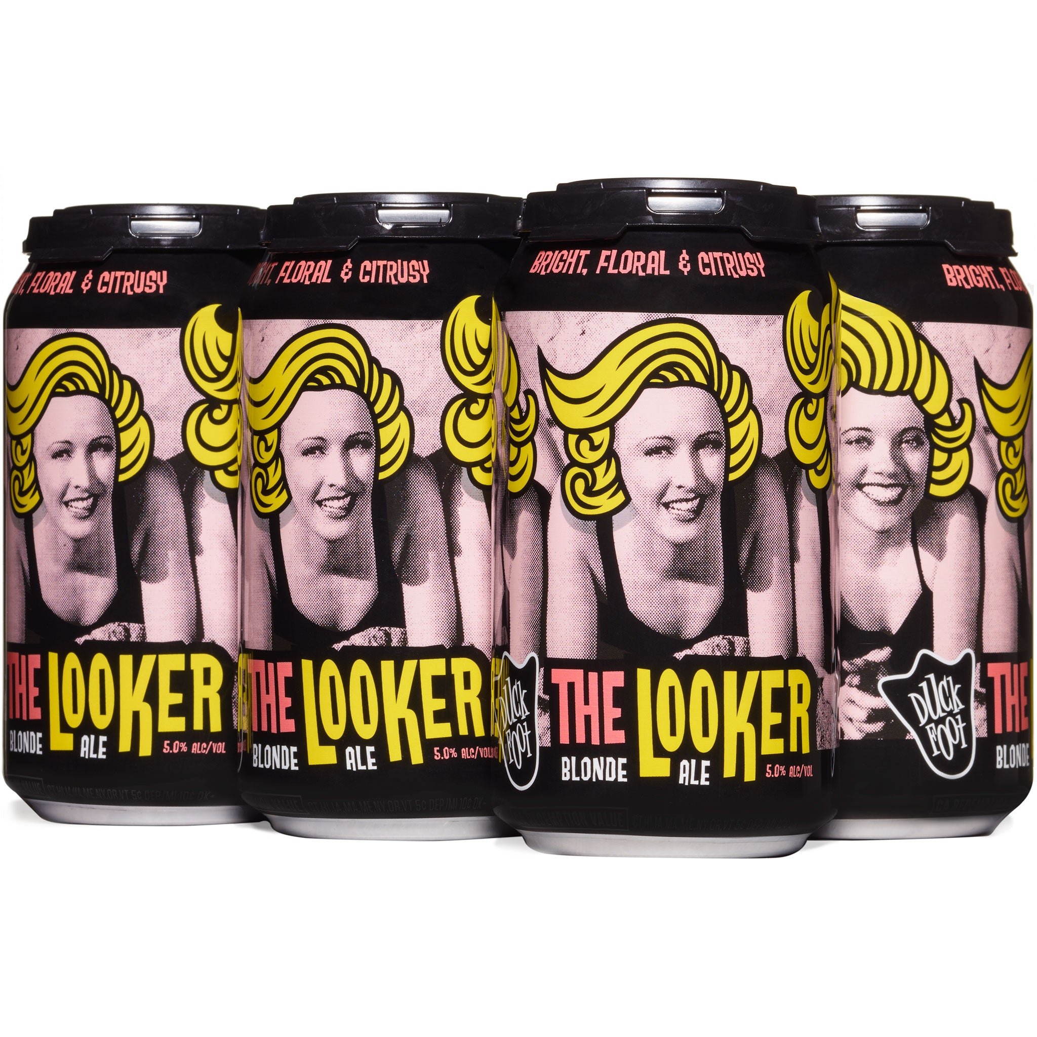 The Looker CASE (4 x 6 Pack of 12oz Cans) ** CA SHIPPING ONLY