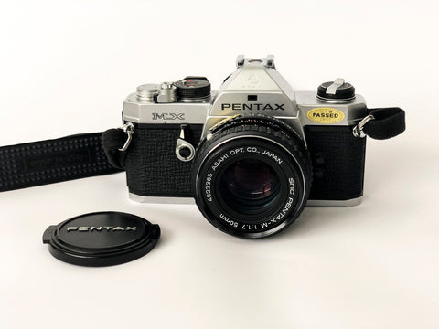 APPAREIL PHOTO VINTAGE PENTAX MX SILVER
