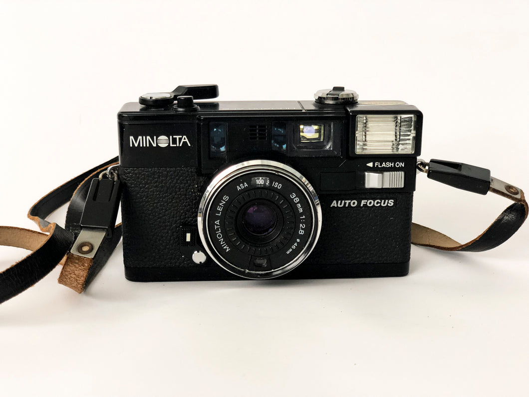 APPAREIL PHOTO VINTAGE MINOLTA HI MATIC AF2